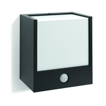 Applique extérieure avec détecteur de mouvement Macaw Philips LED intégrée 3,5W 320 lumens noir