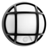 Applique extérieure avec grille Eagle Philips LED intégrée 3,5W 320 lumens noir