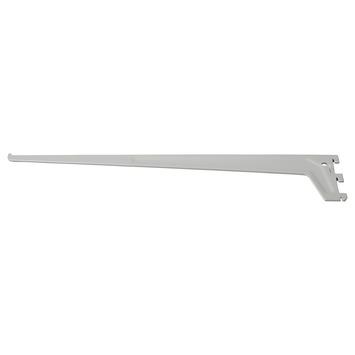 Handson plankdrager enkel 30 cm mat zilver