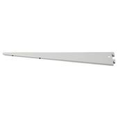 Handson plankdrager dubbel 22 cm mat zilver
