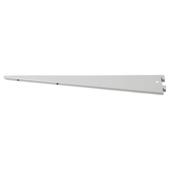 Handson plankdrager dubbel 37 cm mat zilver