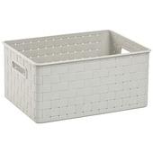 Boîte de rangement Nuance Allibert blanc 18 L