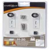 Storemax wielenset voor schuifdeuren H20