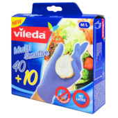 Vileda Multi Sensitive Gants 40+10 pces