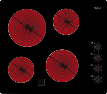 Whirlpool glaskeramische kookplaat AKM 9010 NE 58 cm 4 kookzones