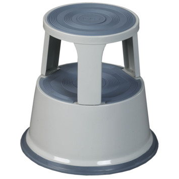 Escalo Kick Step opstapje metaal grijs