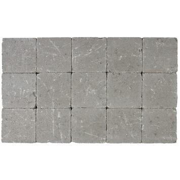 Kasseien Beton Getrommeld Grijs 15x15x5 cm - 105 Stuks / 2,42 m2