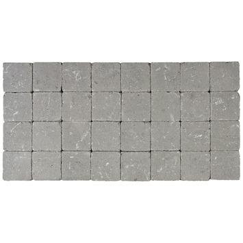 Pavé vibré 10x10x4 cm gris