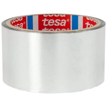Tesa aluminiumtape 10 m x 50 mm zilver