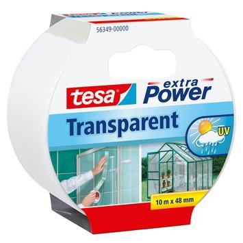 Tesa Extra Power Ruban de réparation 10 m x 48 mm transparent