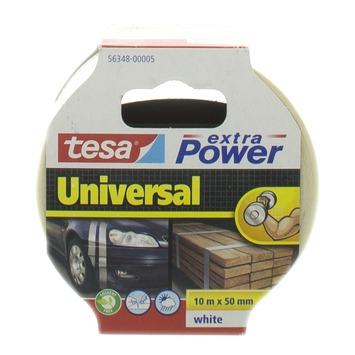 Tesa  Extra Power Universal reparatietape 10 m x 50 mm wit