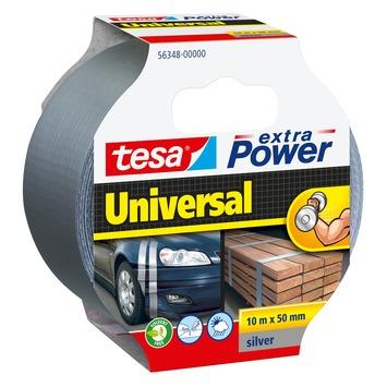 Tesa Extra Power Ruban de réparation 10 m x 50 mm gris