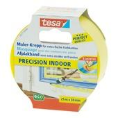Tesa Precision Indoor afplaktape 25 m x 38 mm geel