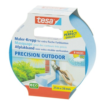 Ruban de masquage Tesa Precision Outdoor 38 mm 25 m bleu