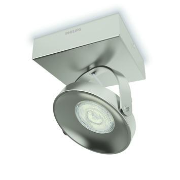 Philips plafondspot Spur LED 1X4.5W nikkel