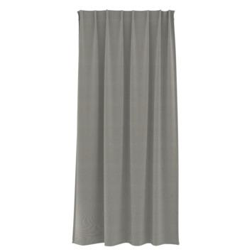Rideau ruban fronceur GAMMA dim-out 1171 gris 140x180 cm