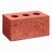 Rupelblock keramiek rood 90 19x9x9 cm
