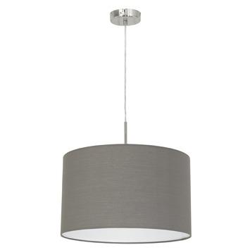 Eglo Pastari hanglamp exclusief lamp E27 max. 60 W grijs
