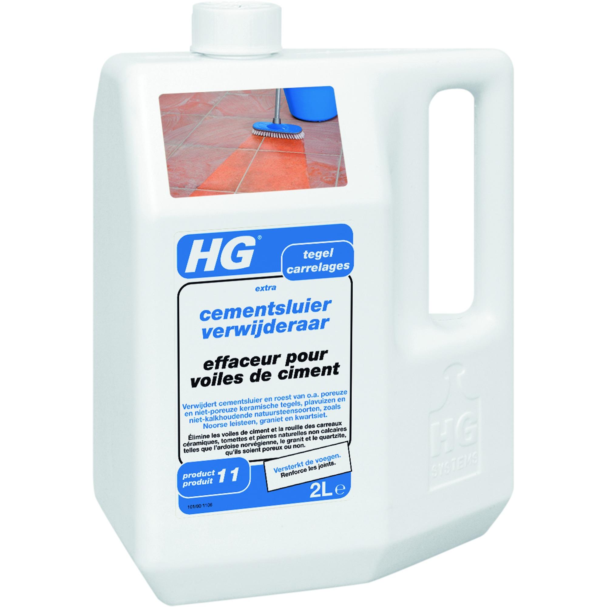 Hg effaceur de voile de ciment carrelage 2 l produits de for Enlever voile de ciment sur carrelage