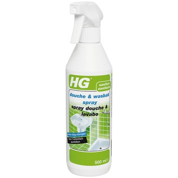 HG sanitair douche en wasbak spray 500 ml