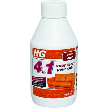 HG reiniger leder 4-in-1 250 ml