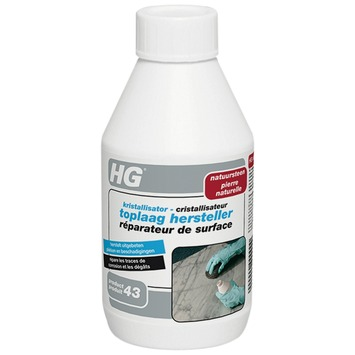 HG kristallisator toplaag hersteller natuursteen 250 ml
