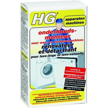 HG onderhoudsmonteur voor vaat- en wasmachines 200 ml