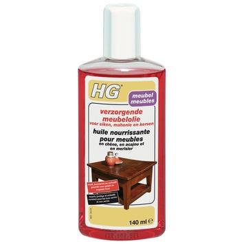 Huile nourrissante pour meubles en chêne, acajou et merisier HG 140 ml