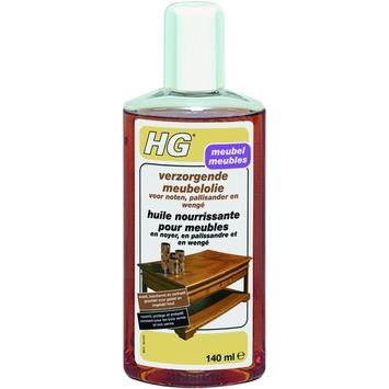 HG meubelolie verzorgend noten, palissander en wengé 140 ml