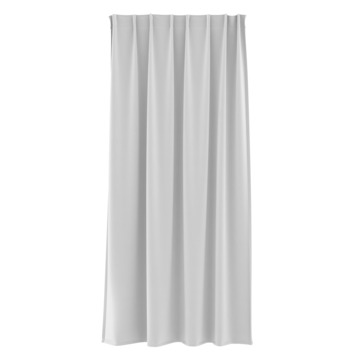 Rideau ruban fronceur GAMMA uni 1155 blanc 140x280 cm