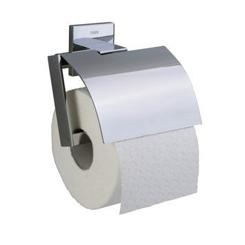 Tiger Items wc rolhouder met klep chroom 131 mm