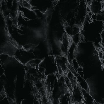 Decoratiefolie Marmer Zwart 346 0048 45x200 Cm Raamfolie Plakfolie Gamma Be