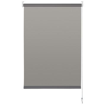 OK rolgordijn uni lichtdoorlatend grijs 90x175 cm