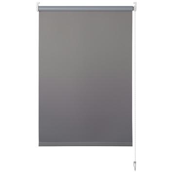 OK rolgordijn uni verduisterend grijs 90x175 cm
