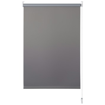 OK rolgordijn uni verduisterend grijs 120x175 cm