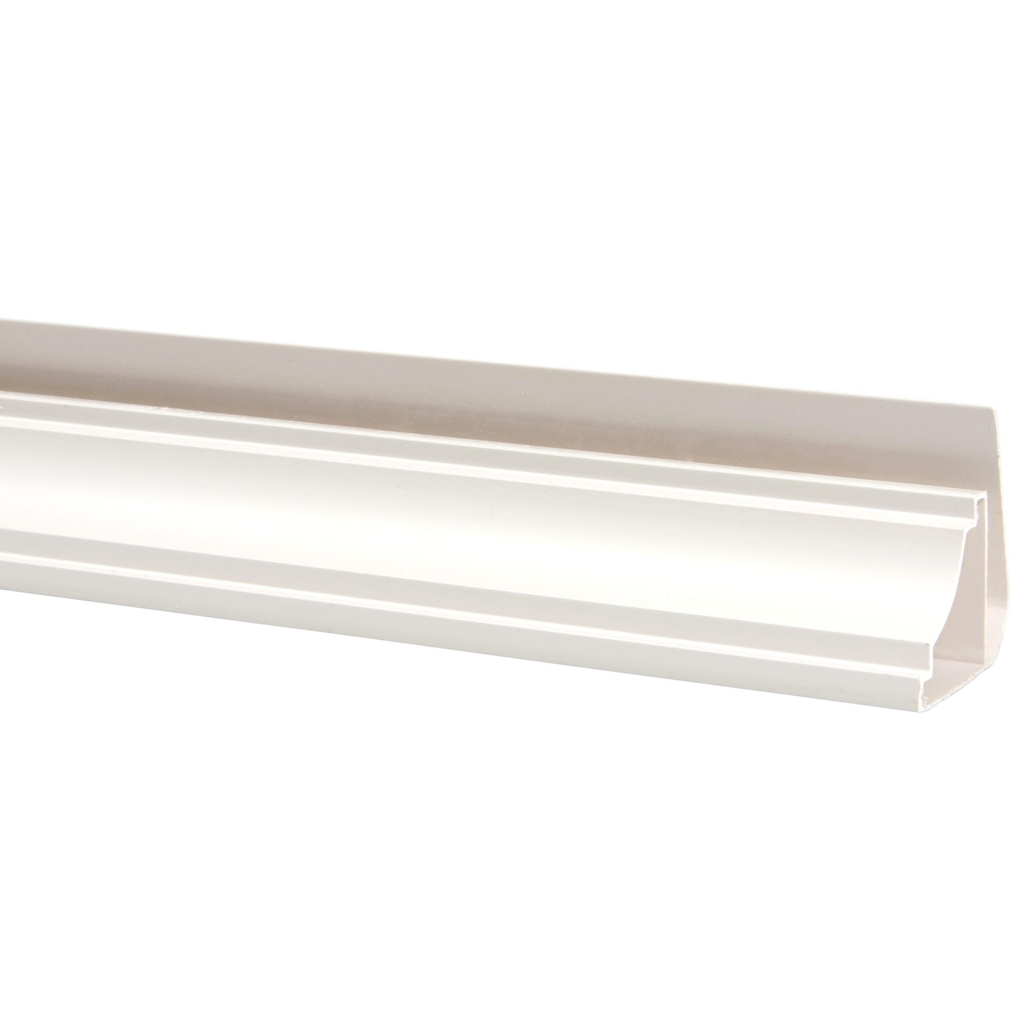 moulure plafond 270 cm blanc cr me profil s en plastique profil s bois. Black Bedroom Furniture Sets. Home Design Ideas