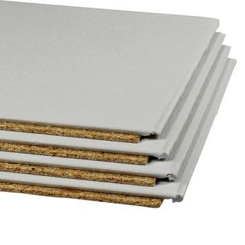 Agnes plafondplaat 120 x 60 cm wit 4 stuks
