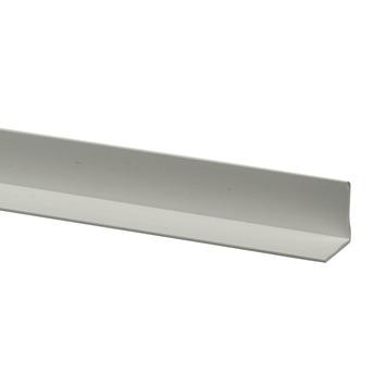 Profilé d'angle synthétique 15x15 mm 260 cm blanc