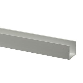 Profilé en U synthétique 18x21 mm 260 cm blanc
