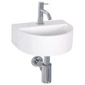 Ensemble lave-mains Demi Differnz avec robinet et siphon