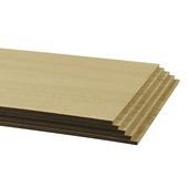 Contremarche CanDo rénovation d'escalier 130x20 cm chêne blanc 5 pièces
