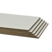 Contremarche CanDo rénovation d'escalier 130x20 cm blanc 5 pièces
