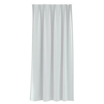 Rideau ruban fronceur GAMMA transparent 1150 blanc 140x180 cm