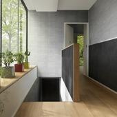 Lambris en PVC Element M Grosfillex 2,925 m² gris
