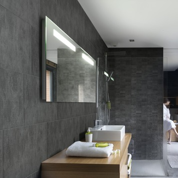 Grosfillex paneel Element S PVC antraciet 2,925 m²