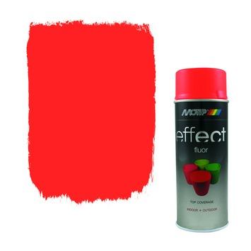 Spuitlak fluoriserend rood-oranje 400 ml