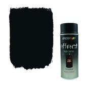 Laque en aérosol thermorésistant noir 400 ml
