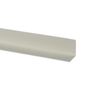 Hoekprofiel kunststof wit 40x40 mm 260 cm