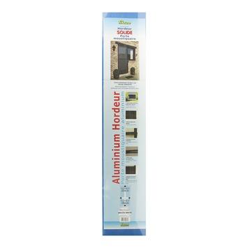 Porte moustiquaire Solide Fikszo aluminium 215x100 cm brun