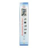 Porte moustiquaire Solide Fikszo aluminium 215x100 cm blanc